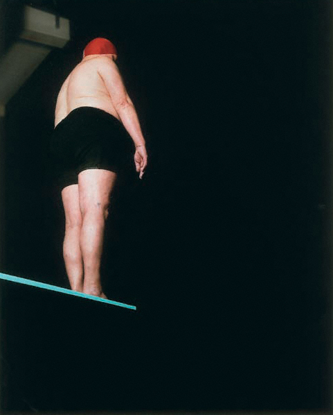 Burkhard von Harder | MAN ON THE DIVING BOARD | SWIMMERS